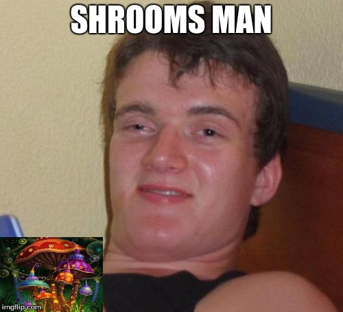 10 Guy Meme | SHROOMS MAN | image tagged in memes,10 guy | made w/ Imgflip meme maker