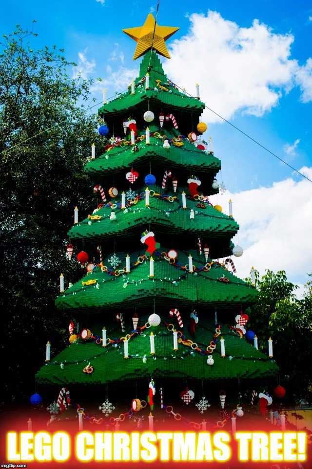 11 Days Left Until Christmas... |  LEGO CHRISTMAS TREE! LEGO CHRISTMAS TREE! | image tagged in memes,christmas,christmas tree,lego,awesome,sweet | made w/ Imgflip meme maker
