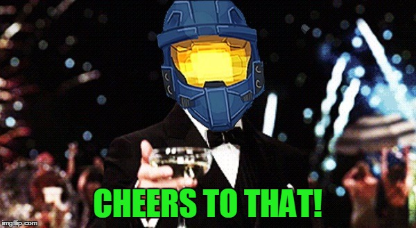 Cheers Ghost | CHEERS TO THAT! | image tagged in cheers ghost | made w/ Imgflip meme maker