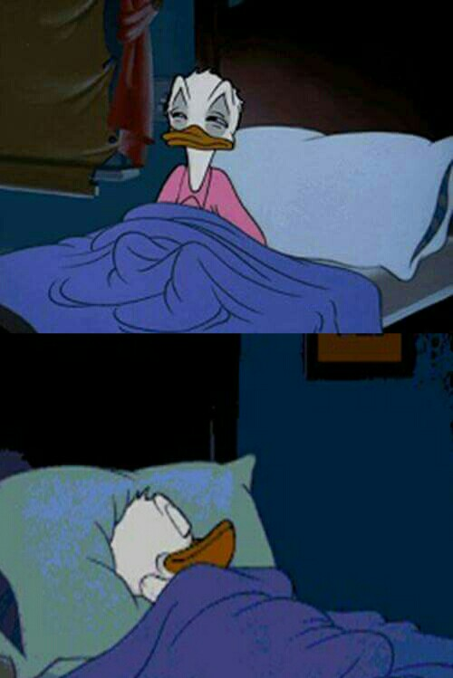 Image result for donald duck asleep meme