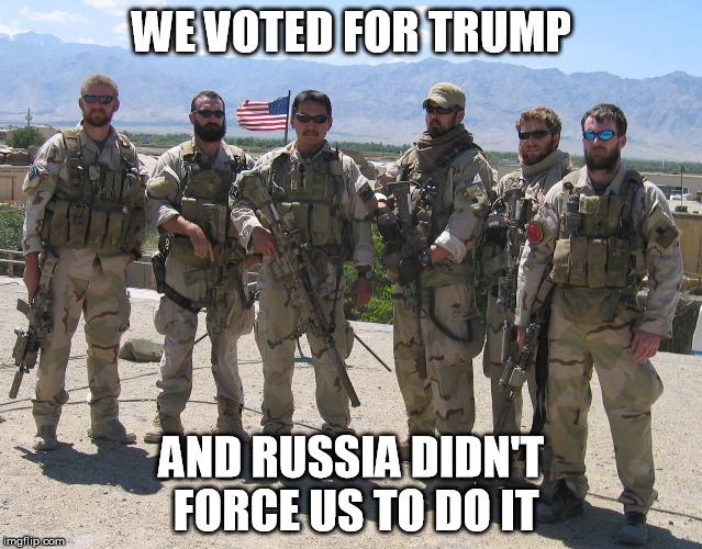 Navy SEALS for Trump - Imgflip