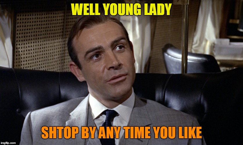 WELL YOUNG LADY SHTOP BY ANY TIME YOU LIKE | made w/ Imgflip meme maker