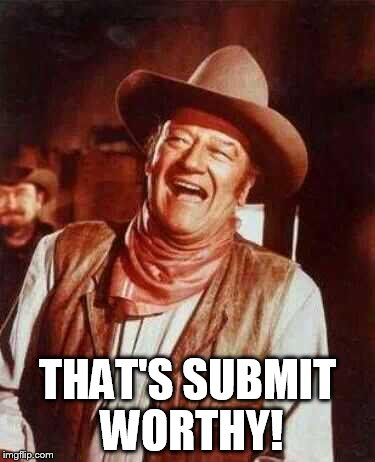 laughing | THAT'S SUBMIT WORTHY! | image tagged in laughing | made w/ Imgflip meme maker