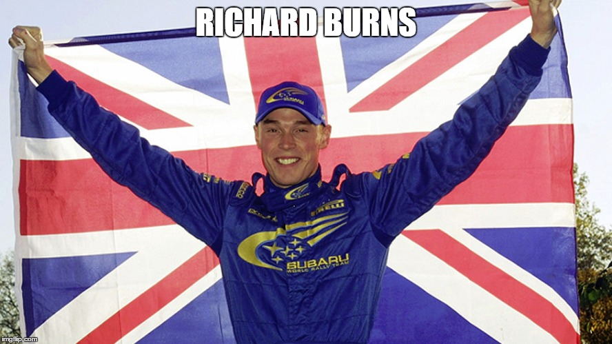 RICHARD BURNS | made w/ Imgflip meme maker