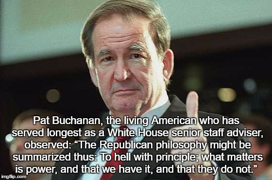 "Republican Presidential Candidate Summarizes ""The Republican Philosophy"" 