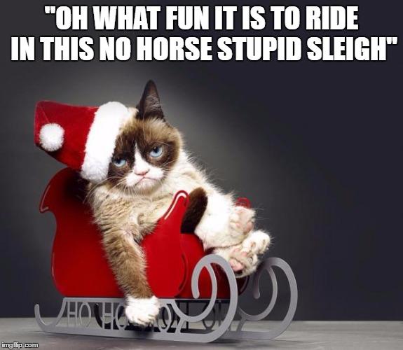 Funny Grumpy Cat Christmas Memes.Grumpy Cat Christmas Hd Imgflip