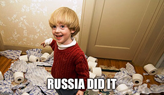 Russia Did It | RUSSIA DID IT | image tagged in russia,election rigging | made w/ Imgflip meme maker