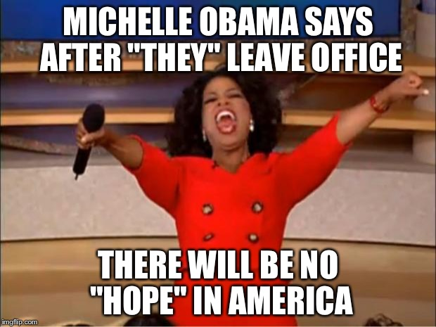 "8 years ago she was proud to be an American for the ""1st"" time, now all hope is lost... Get off your high horse!!! 
