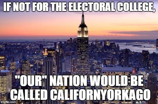 Electoral College Funny Meme : Electoral college imgflip