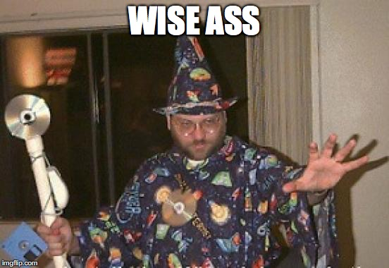 WISE ASS | made w/ Imgflip meme maker