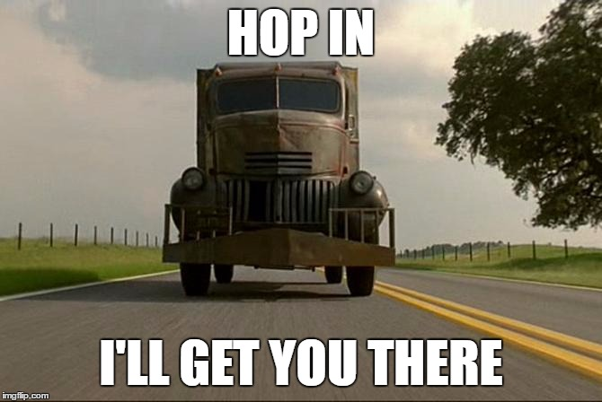HOP IN I'LL GET YOU THERE | made w/ Imgflip meme maker
