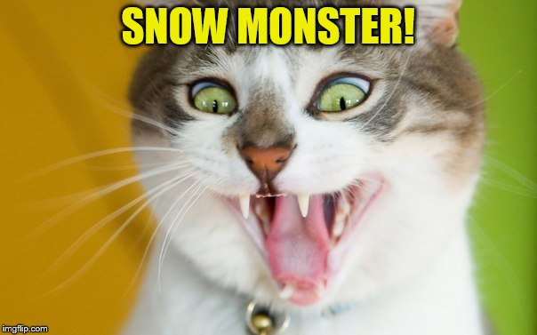 SNOW MONSTER! | made w/ Imgflip meme maker