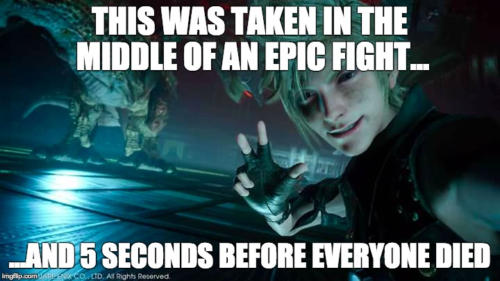Image result for final fantasy 15 memes