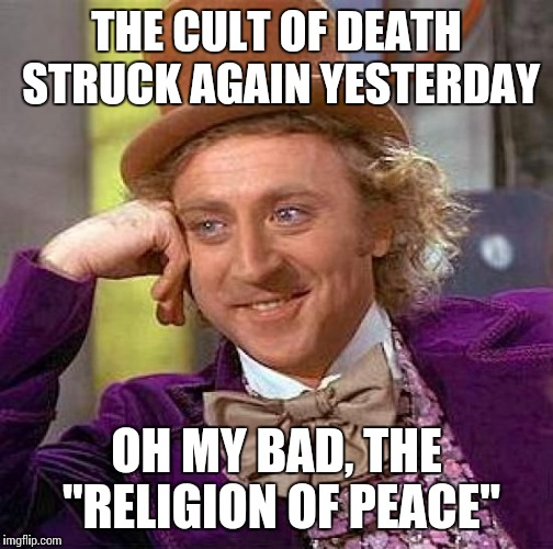 "A terrorist attack at a Berlin Christmas festival and two assassinations, so much ""peace"" 