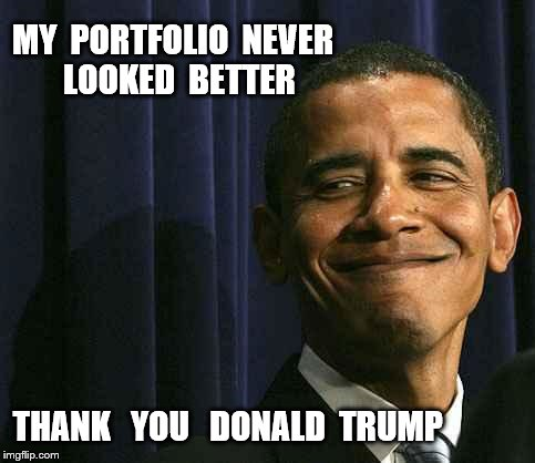 smug face | MY PORTFOLIO NEVER LOOKED BETTER THANK YOU DONALD TRUMP ...