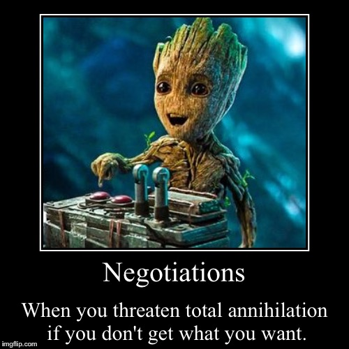Groot Negotiations Imgflip