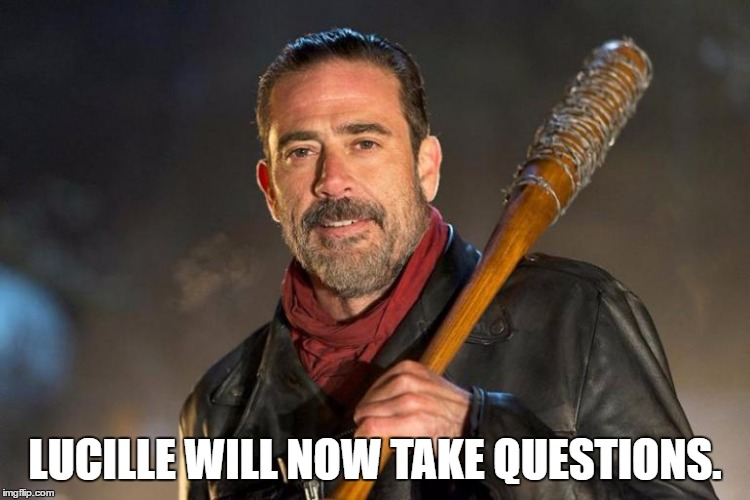 Trump Announces New Press Secretary. | LUCILLE WILL NOW TAKE QUESTIONS. | image tagged in meet the press | made w/ Imgflip meme maker