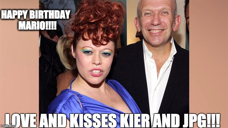 HAPPY BIRTHDAY  MARIO!!!! LOVE AND KISSES KIER AND JPG!!! | image tagged in jpg | made w/ Imgflip meme maker