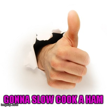 GONNA SLOW COOK A HAM | made w/ Imgflip meme maker