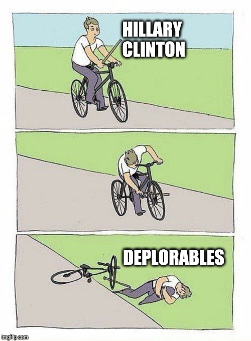 HILLARY CLINTON DEPLORABLES | made w/ Imgflip meme maker