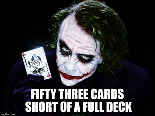 Image result for short a full deck