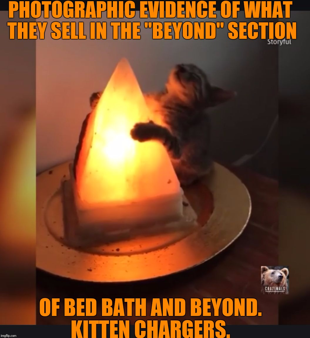 "Always wondered what was in the ""Beyond"" section.  