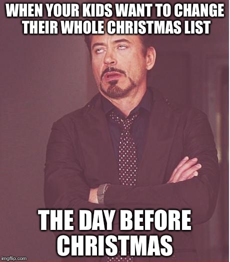 Christmas Memes For Kids.Face You Make Robert Downey Jr Meme Imgflip