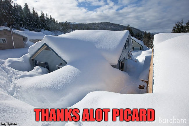 THANKS ALOT PICARD | made w/ Imgflip meme maker