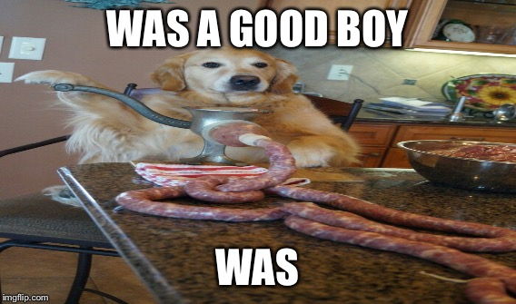 WAS A GOOD BOY WAS | made w/ Imgflip meme maker