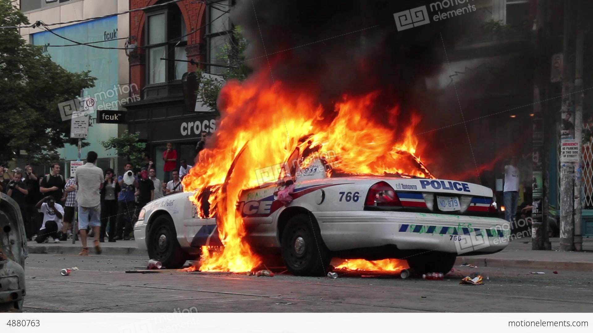 High Quality Exploding Police Car Blank Meme Template
