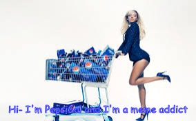 Pepsi gal | Hi- I'm PepsiGal and I'm a meme addict | image tagged in pepsi gal | made w/ Imgflip meme maker