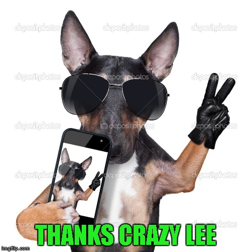 THANKS CRAZY LEE | made w/ Imgflip meme maker