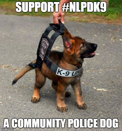 SUPPORT #NLPDK9 A COMMUNITY POLICE DOG | image tagged in scott | made w/ Imgflip meme maker