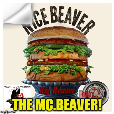 THE MC.BEAVER! | made w/ Imgflip meme maker