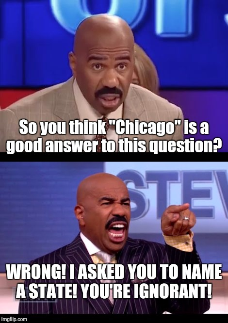 Steve Harvey - Another Wrong Answer - Imgflip