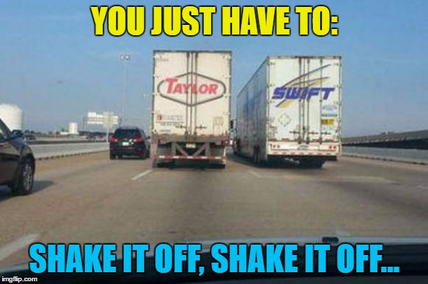 YOU JUST HAVE TO: SHAKE IT OFF, SHAKE IT OFF... | made w/ Imgflip meme maker
