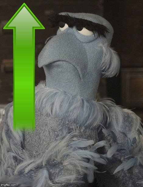 Muppets Sam the Eagle Patriot Up Vote | . | image tagged in muppets sam the eagle patriot up vote | made w/ Imgflip meme maker