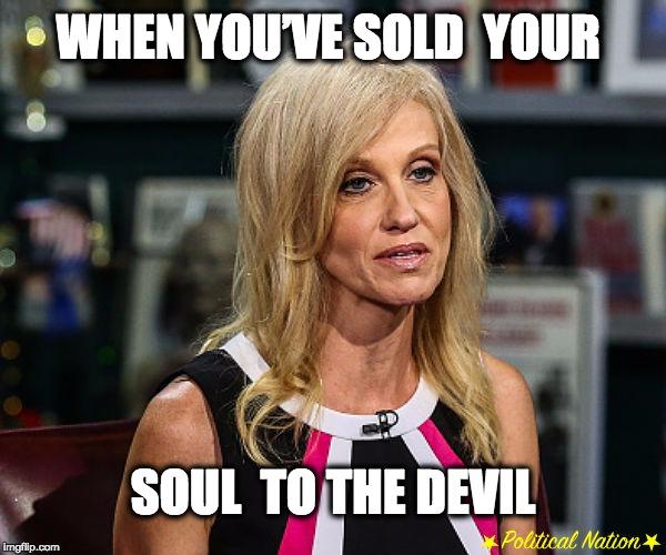 Image result for trump sold soul devil
