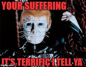 Hellraiser Trump - Imgflip
