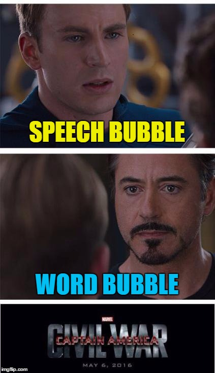SPEECH BUBBLE WORD BUBBLE | made w/ Imgflip meme maker