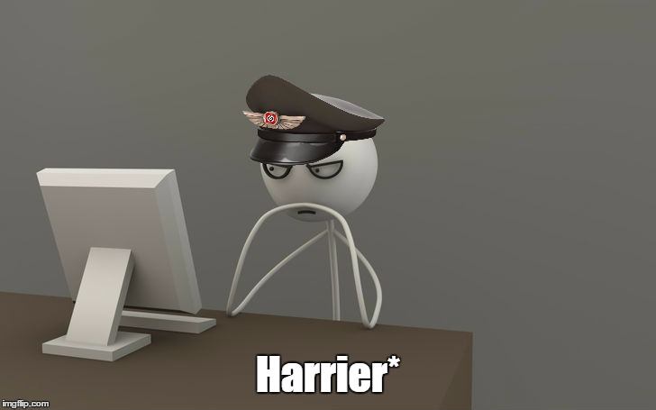 Harrier* | made w/ Imgflip meme maker