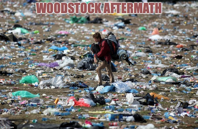 WOODSTOCK AFTERMATH | made w/ Imgflip meme maker