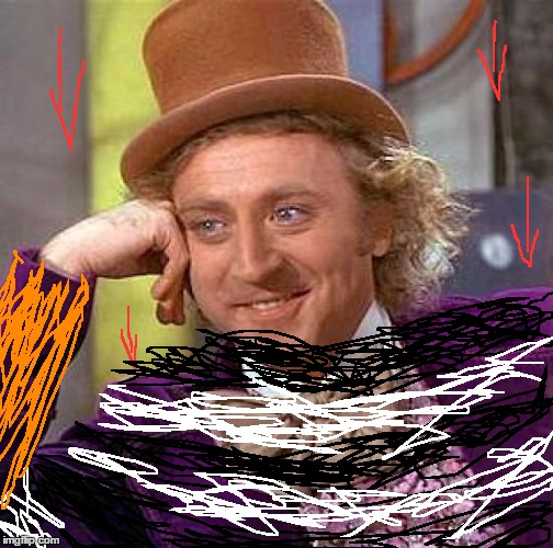 Condescending Con Descending | image tagged in memes,creepy condescending wonka,bad puns | made w/ Imgflip meme maker