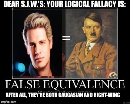 image tagged in logical fallacy | made w/ Imgflip meme maker