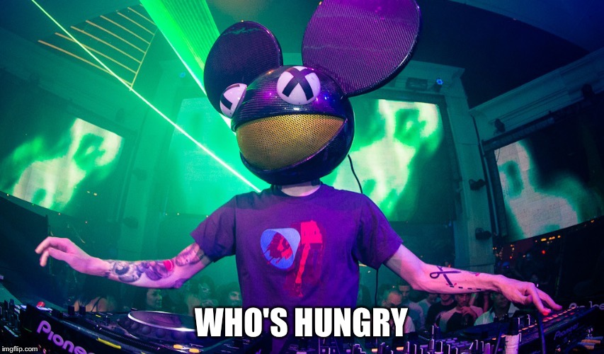 WHO'S HUNGRY | made w/ Imgflip meme maker