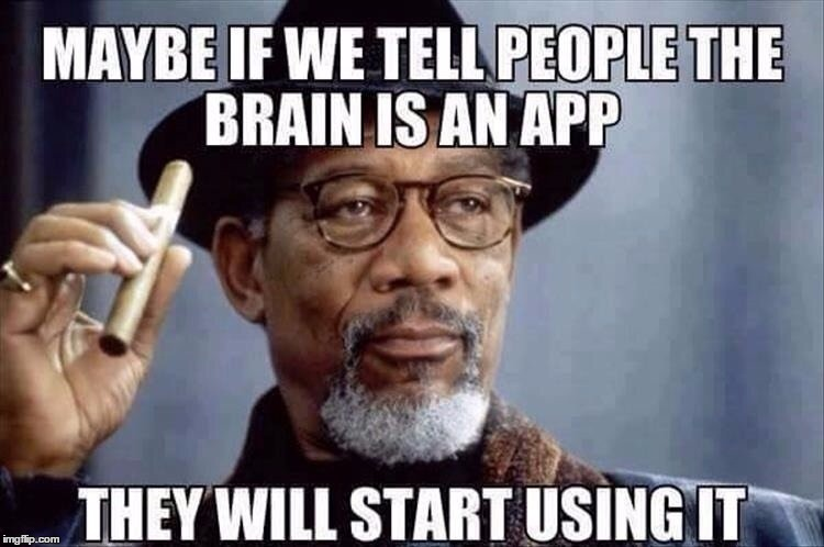 best app idea ever! | 9 | image tagged in morgan freeman,funny,stupidity epidemic | made w/ Imgflip meme maker