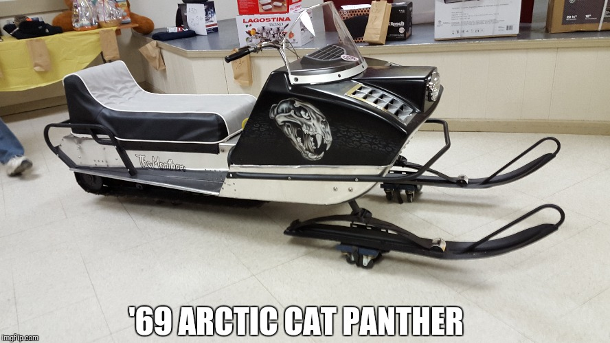 '69 ARCTIC CAT PANTHER | made w/ Imgflip meme maker