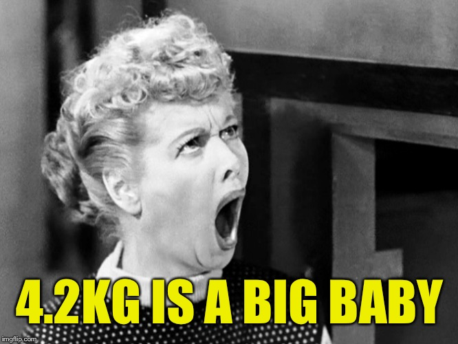 4.2KG IS A BIG BABY | made w/ Imgflip meme maker