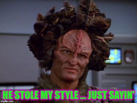 HE STOLE MY STYLE ... JUST SAYIN' | made w/ Imgflip meme maker