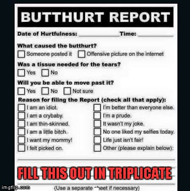 FILL THIS OUT IN TRIPLICATE | made w/ Imgflip meme maker